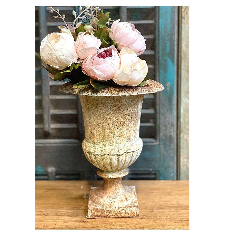 Cast iron french urn