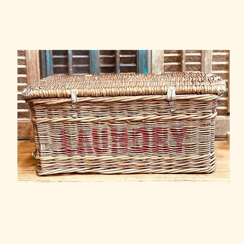 Vintage Hounslow Laundry Basket
