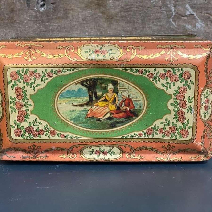 1930s vintage tin