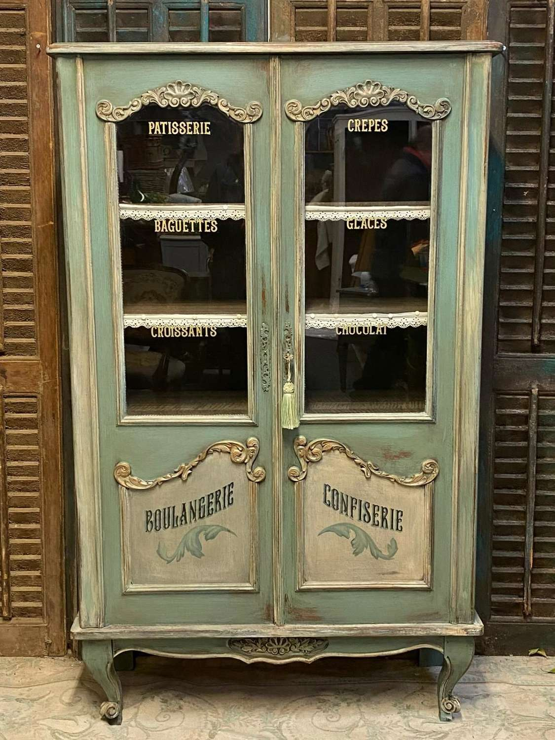 French confectionery cabinet