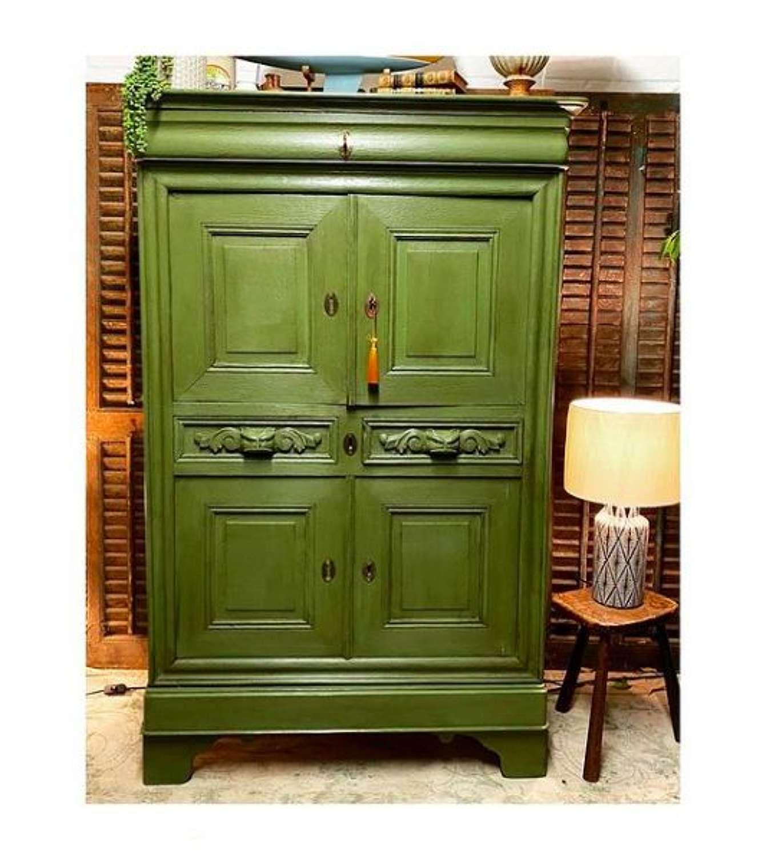 French larder or kitchen cupboards