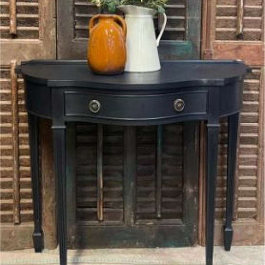 Small console table with drawer