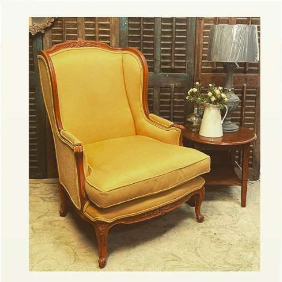 French vintage armchair