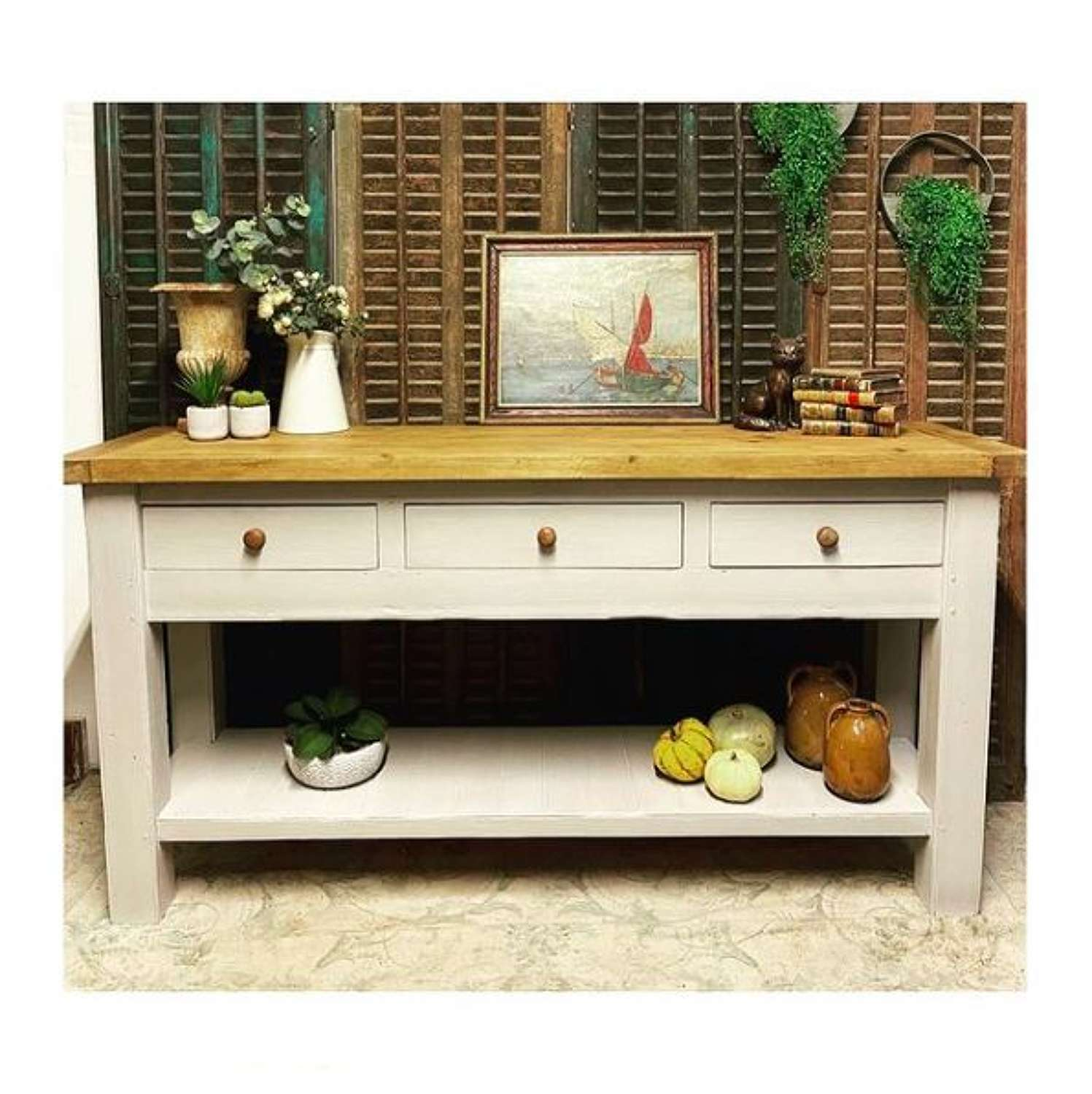 Console kitchen table