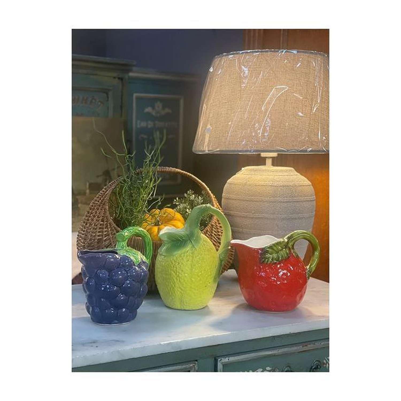 Ceramic fruit jugs