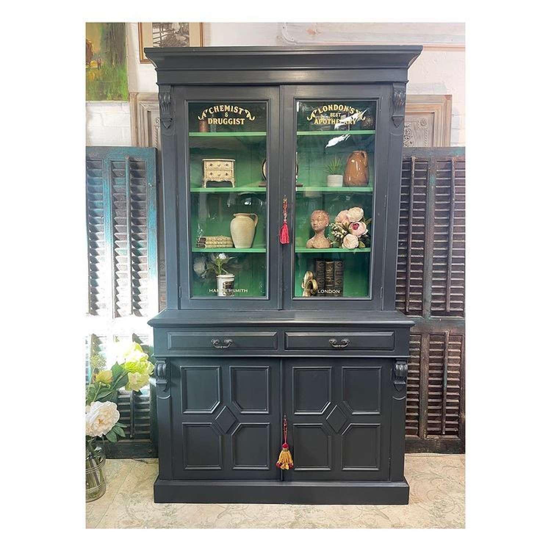 Stunning Victorian bookcase