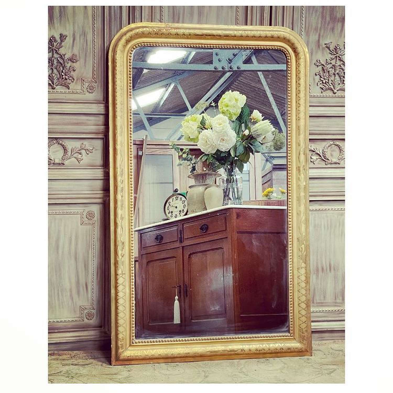 French Louis Phillipe antique mirror